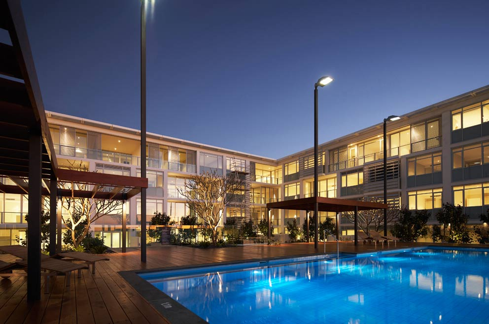 Claremont Quarter – Level 4 Pool Area