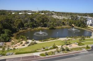 Fiona Stanley Hospital fountain