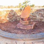 John pat peace place rock sculpture