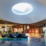 Westfield Carousel indoor light feature