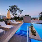 Westin hotel pool beds